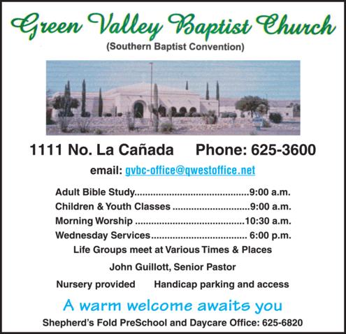 Green Valley Baptist Church 1