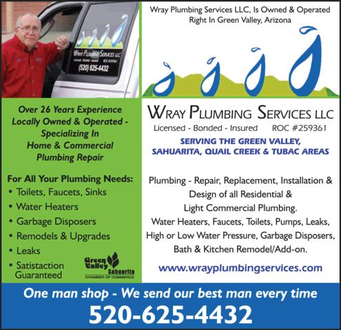 Wray Plumbing Services LLC